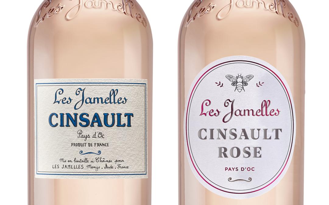 Nouveau look pour notre Cinsault Rosé !