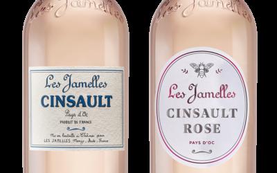 Neuer Look für unseren Cinsault Rosé!