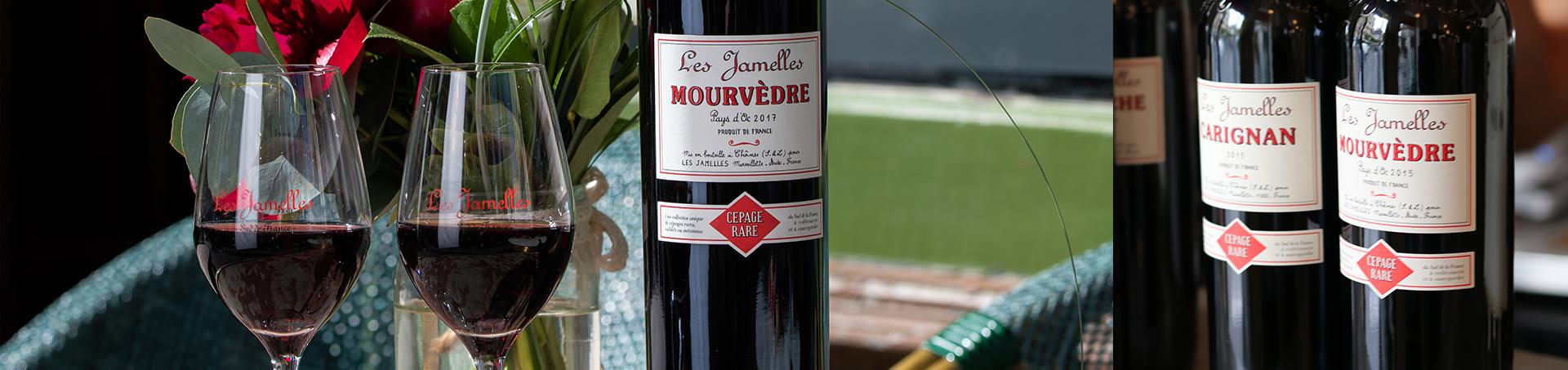 Vin rouge Les Jamelles - Mourvèdre