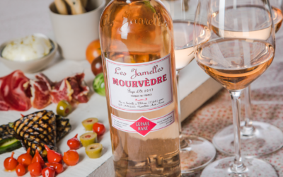 89/100 in Decanter for our Mourvèdre rosé!