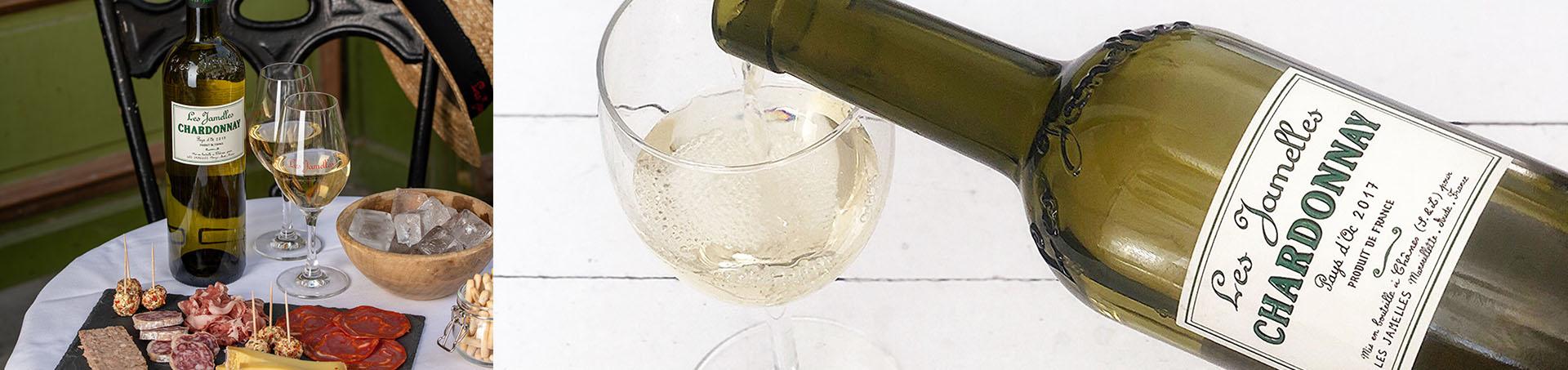 Bannière Chardonnay les Jamelles - OK