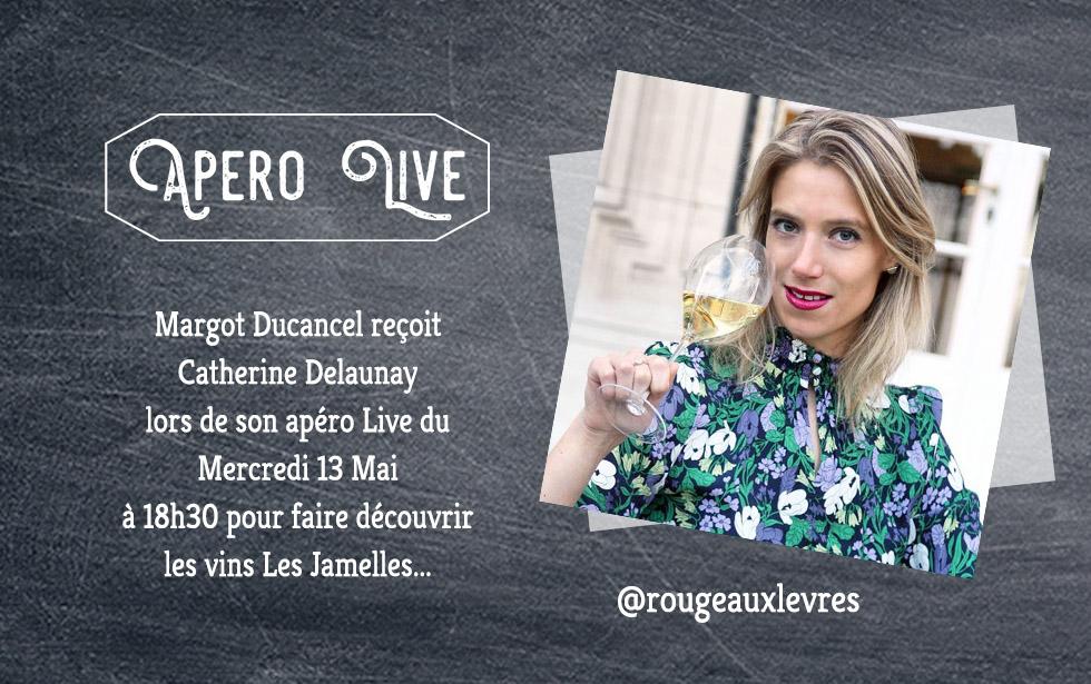Un InstaLive avec Margot Ducancel de @RougeAuxLevres