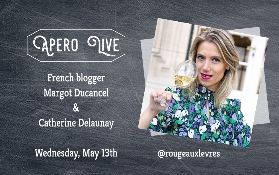 InstaLive with the French blogger Margot Ducancel