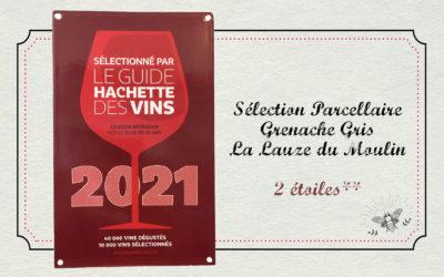 2 étoiles au Guide Hachette 2021!