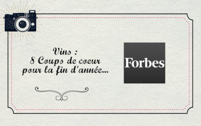 Magazine Forbes : Coup de coeur pour la fin d'année !