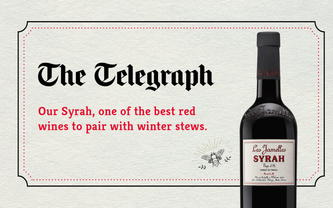 The Telegraph talks about us