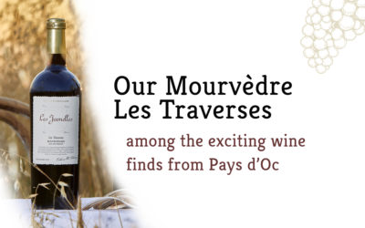 Our Mourvèdre Les Traverses honoured by The Drinks Business!