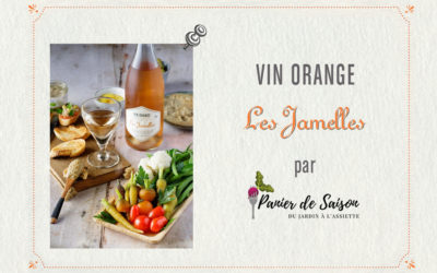 Et un vin orange dans le panier (de saison) !