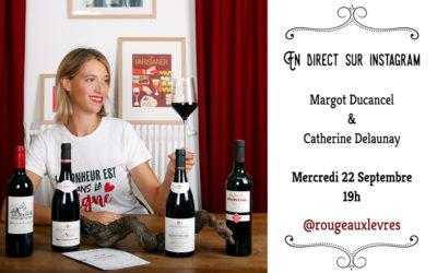 Flashtasting avec Margot Ducancel de @RougeAuxLevres