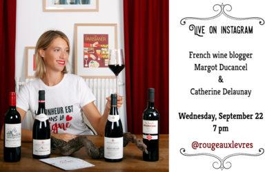 Flashtasting with Margot Ducancel @RougeAuxLevres