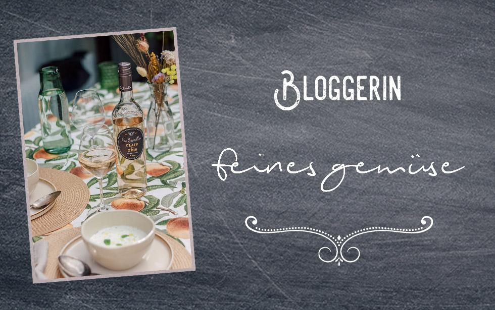 Bloggerin Feines Gemüse & Clair de Gris